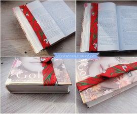 Diy Tutorial Silk Bookmark