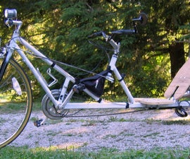 Build a long-wheelbase low racer recumbent bicycle