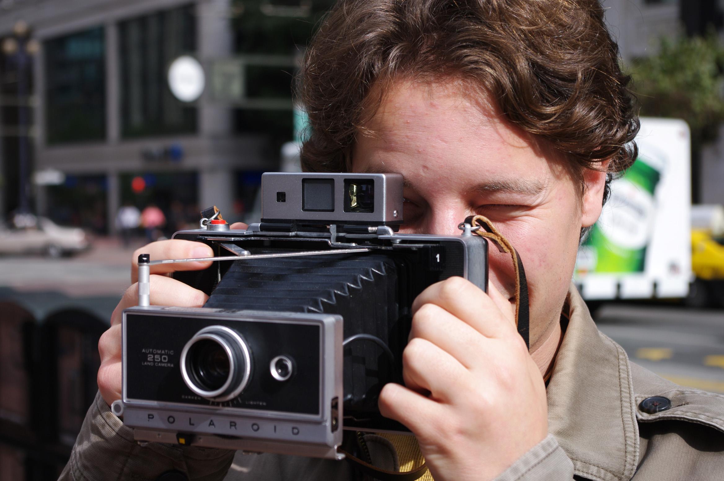 Picture of Resurrect a Polaroid Land Camera