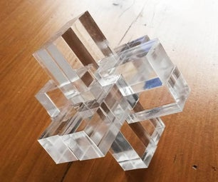 Puzzle, Laser Cut Plexi and Wood
