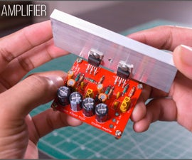 DIY Compact Stereo Amplifier