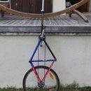Giraffe unicycle (self-made)
