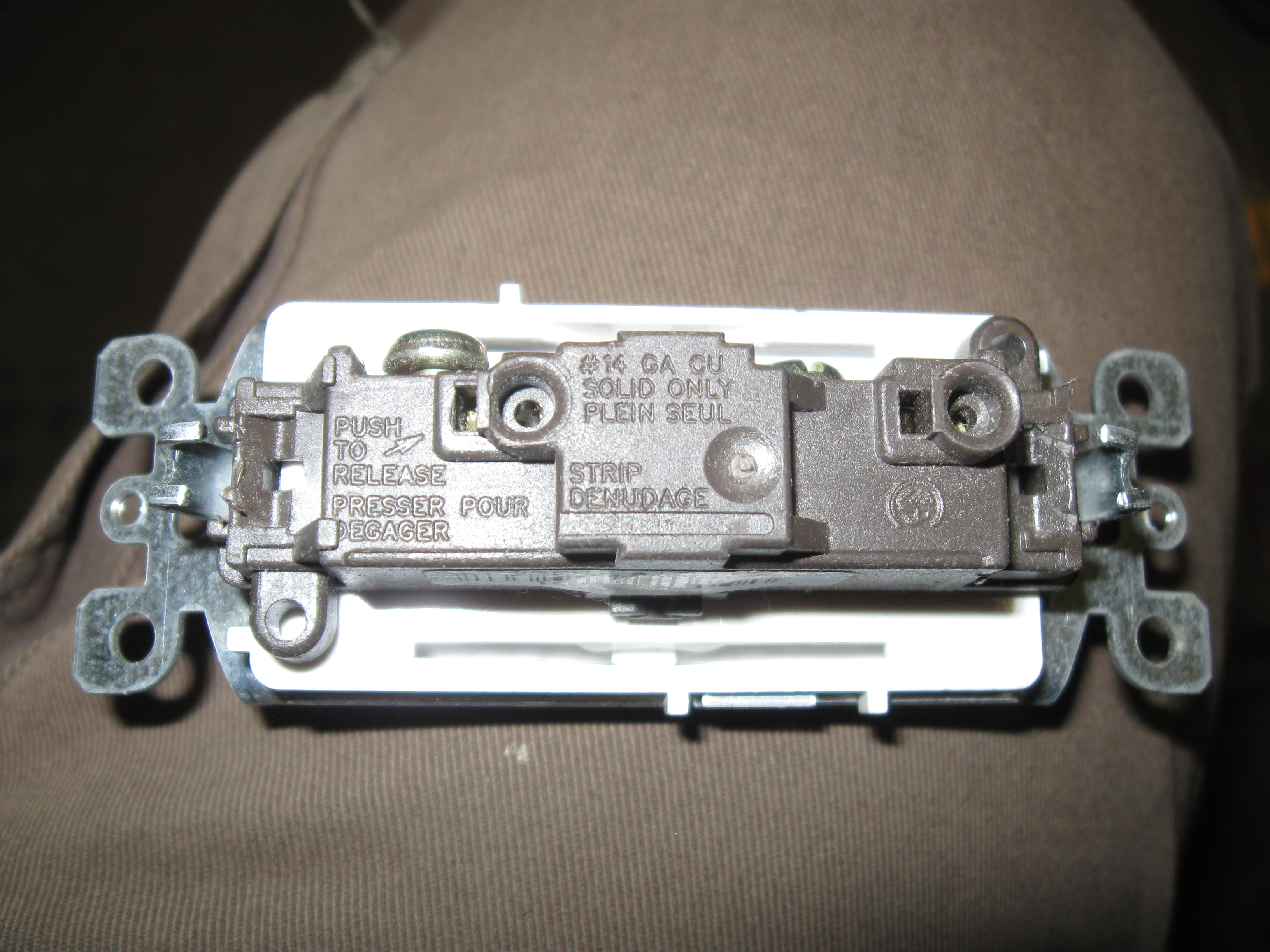 Picture of Disassemble and Prepare the Switch