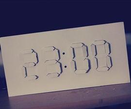 Digital/Analog Clock - Arduino + PaperCraft