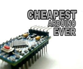 Cheapest Arduino    Smallest Arduino    Arduino Pro Mini    Programming    Arduino Neno