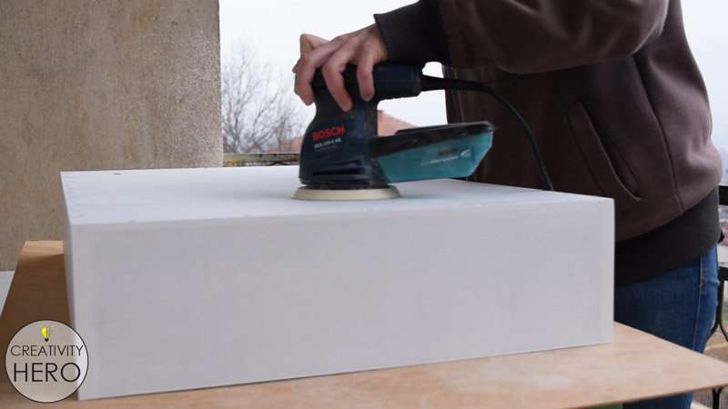 Picture of Painting the Box.