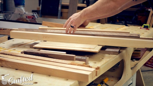 Break Down Scraps & Flatten Pieces