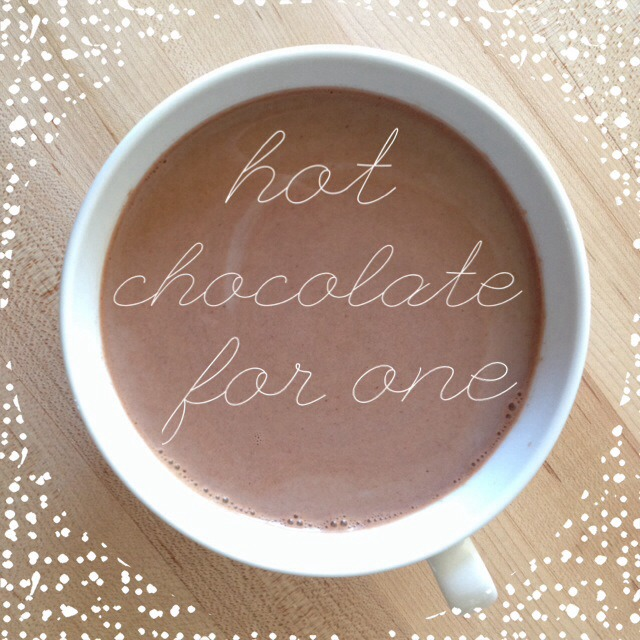 Picture of Hot Chocolate for One