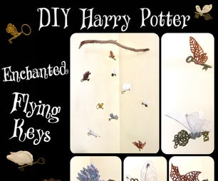 "Harry Potter ""Enchanted Flying Keys"""