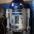 R2D2 How to battle damaged R2 and add low-cost audio n led lights