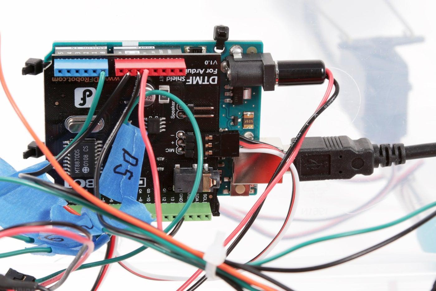 Reprogram the Arduino