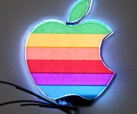 EL Backlit Apple Logo
