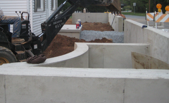 Picture of Concrete Walls