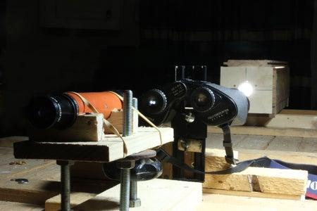 Kitchen Table Binocular Collimation