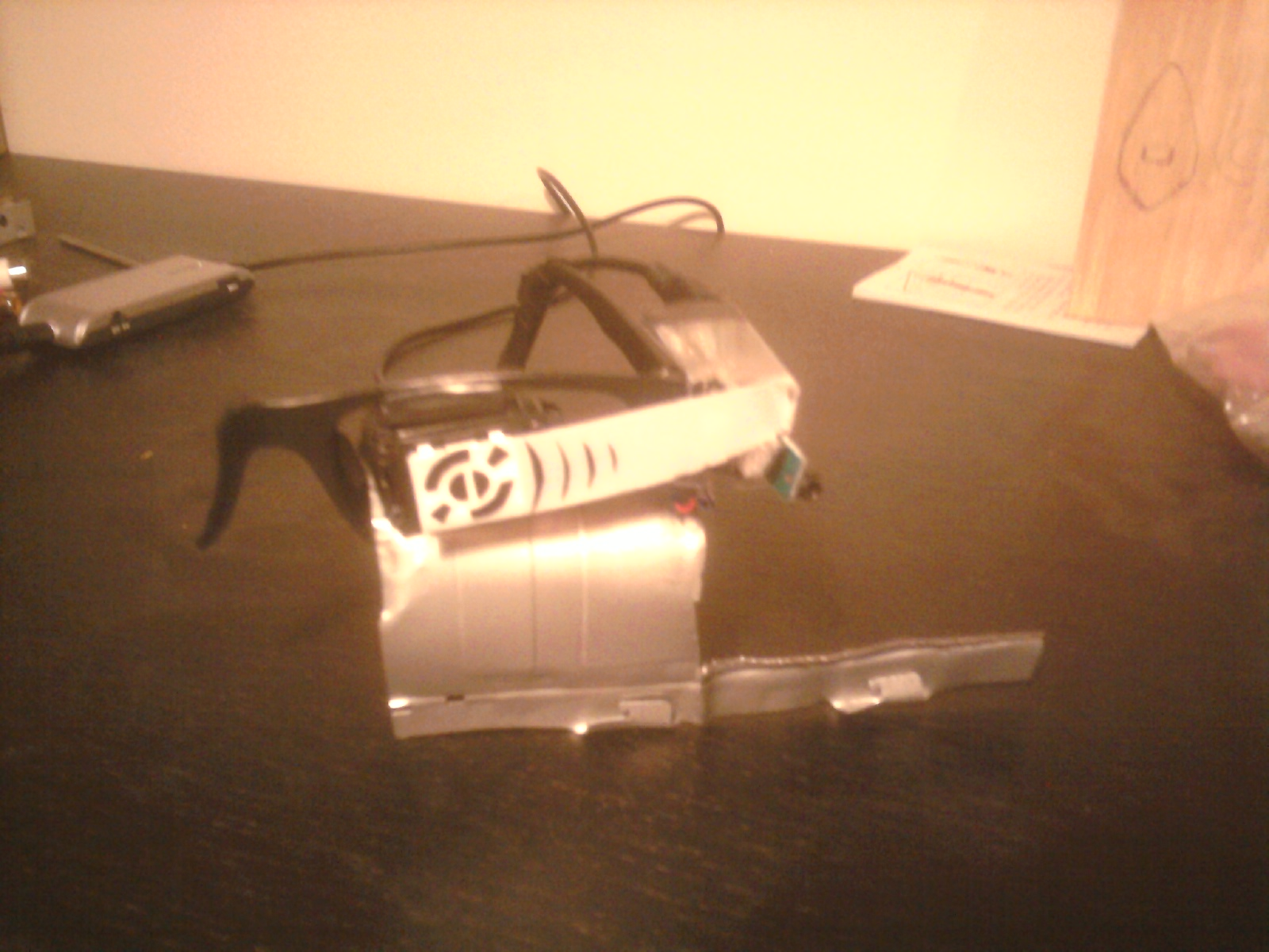 """Picture of Raspberry Pi """"Google Glass"""" - Simple and Sleek"""