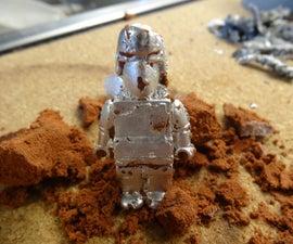 Pewter Sand Casting