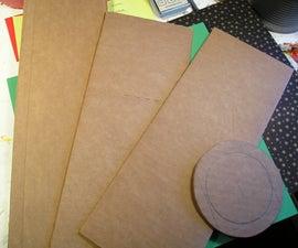 Making Cheap Cardboard Coasters