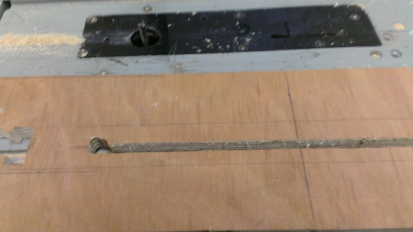 Picture of Routing the Adjuster Slot