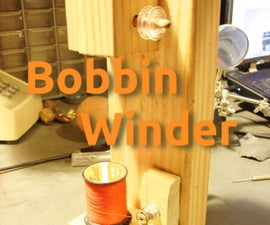 Recycled Bobbin Winder