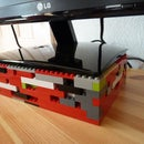 Lego Monitor Stand