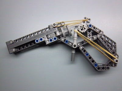 Working Lego Technic Revolver