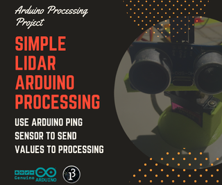Simple Processing Uldar (Ultrasonic Detection and Ranging)