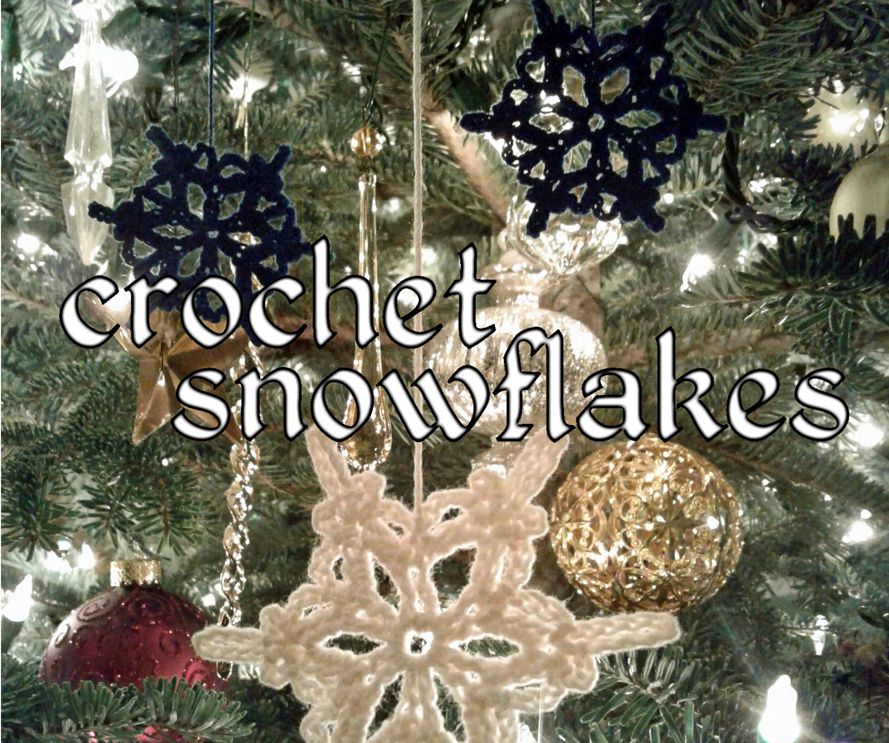 Picture of Crochet Snowflakes