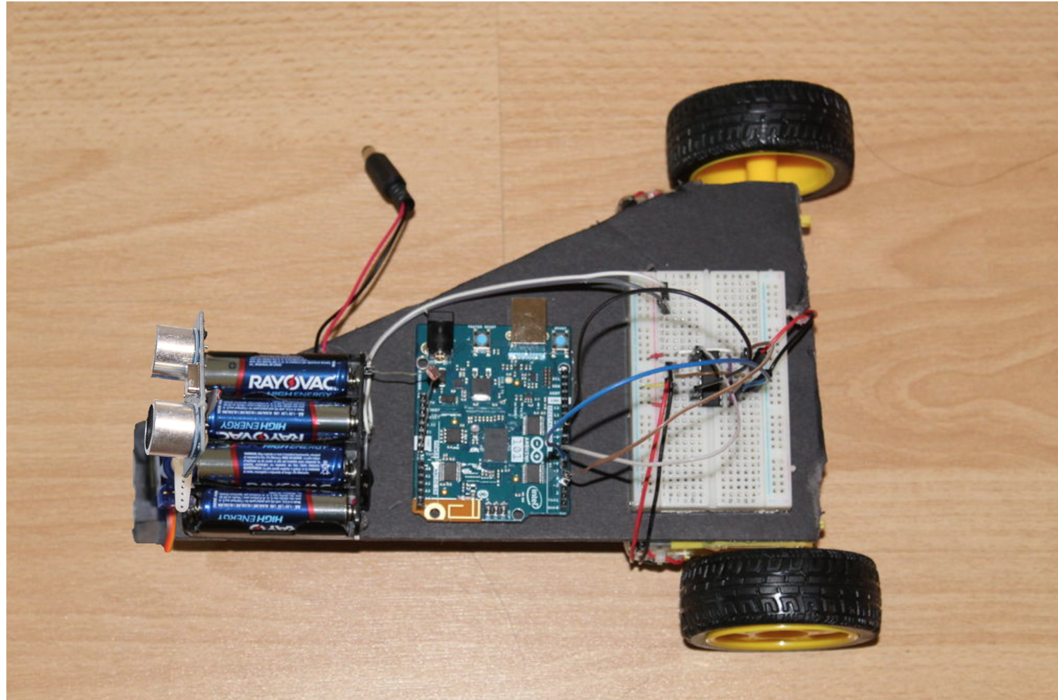 Picture of 'Oort' the Obstacle Avoiding Robot