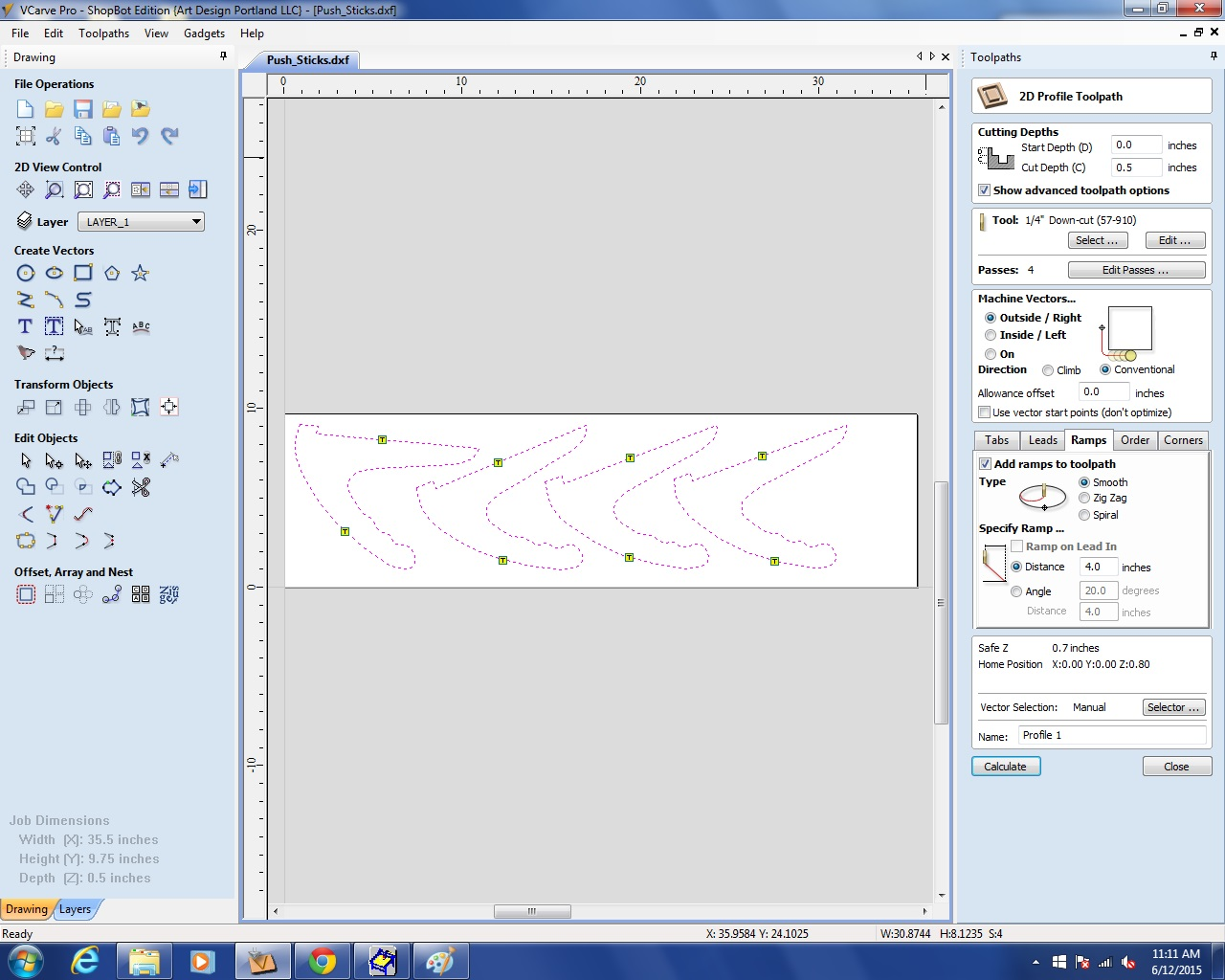 Picture of Toolpaths