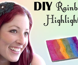 DIY Rainbow Highlighter Inspired by Bitter Lace Beauty's Prism Highlighter