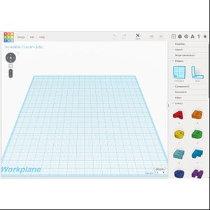Create a New Design in Tinkercad