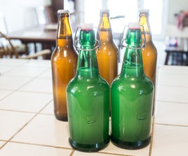 Homemade Ginger Beer with Wild Yeast