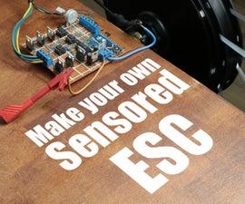 Make Your Own Sensored ESC