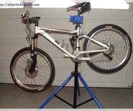 DIY Portable Bike Repair Stand
