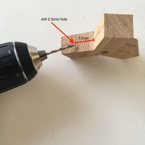 Drill Small Holes for Screws