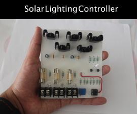 Low Cost Solar Lighting Controller