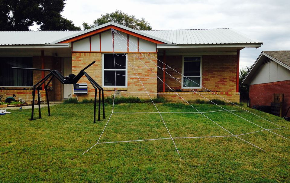 Picture of Make a Giant PVC Spider