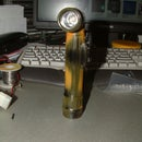 Replacing old Bulb on a small ANGLE HEAD Flashlight with a LED Diode