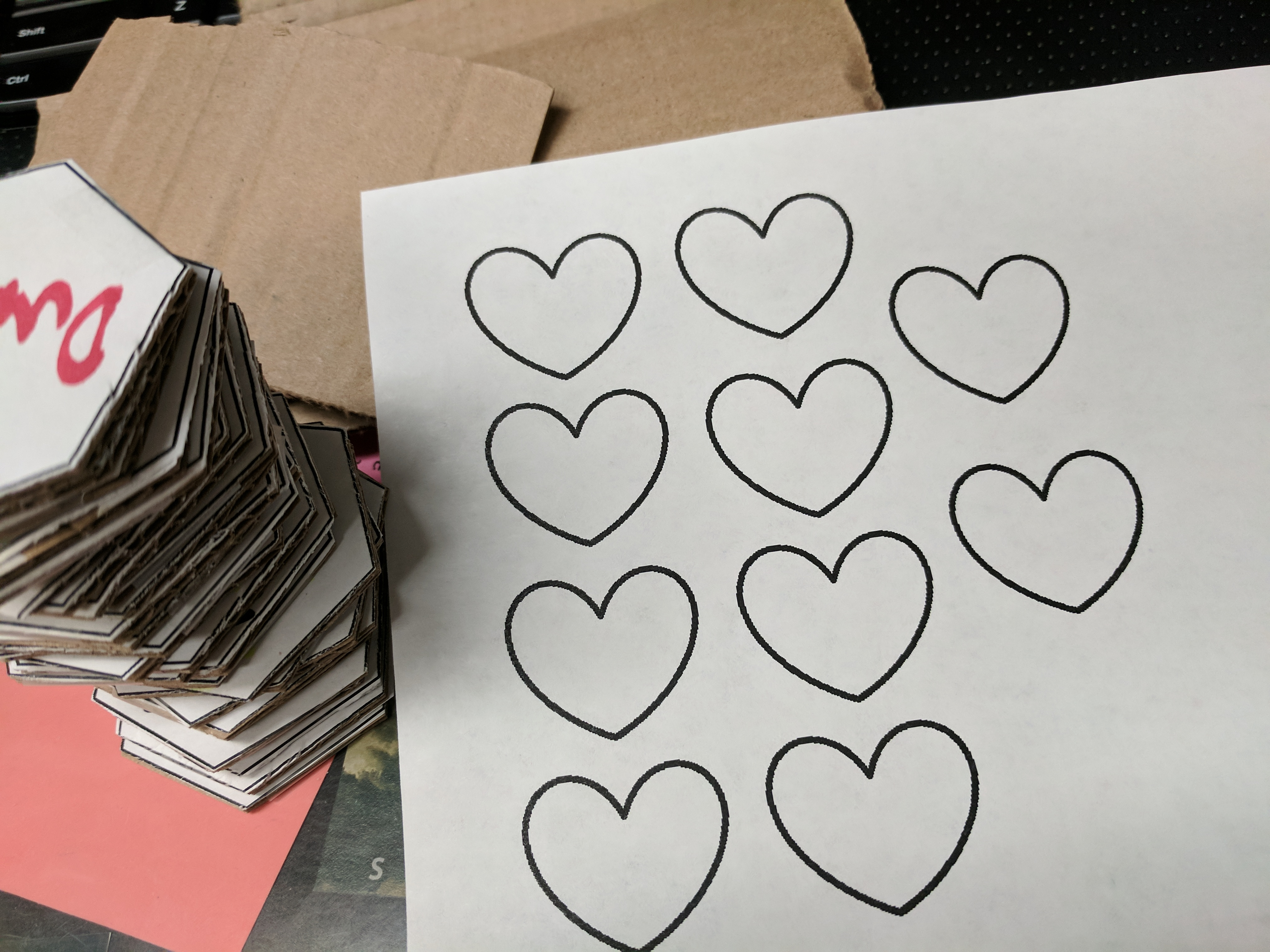 Picture of Heart Tokens