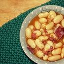 Spanish White Beans With Serrano Ham