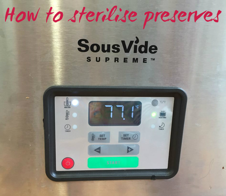 Picture of Sterilise Preserves With a Sous-vide Water Bath
