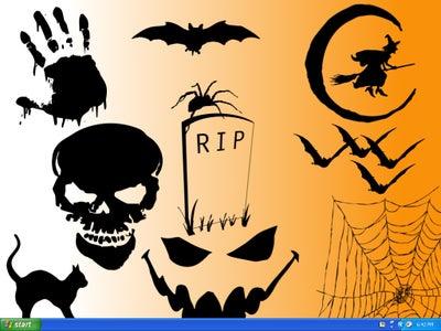 Make Your Own Halloween Themed Desktop Background