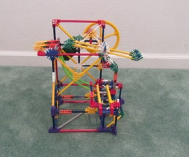 Spinning Push Lift: A K'nex Ball Machine Lift