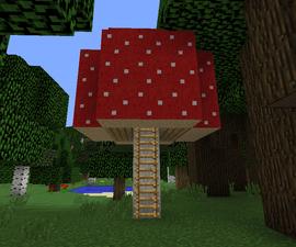 Minecraft Mushroom House