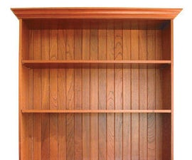 How to make a Fine FIgured Bookcase