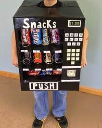 Picture of Vending Machine Costume