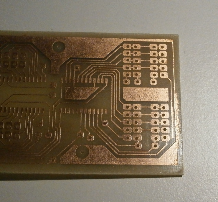 Picture of PCB Soldering