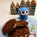 """Night Owl"" Mocha Cappuccino Lace Cookies"