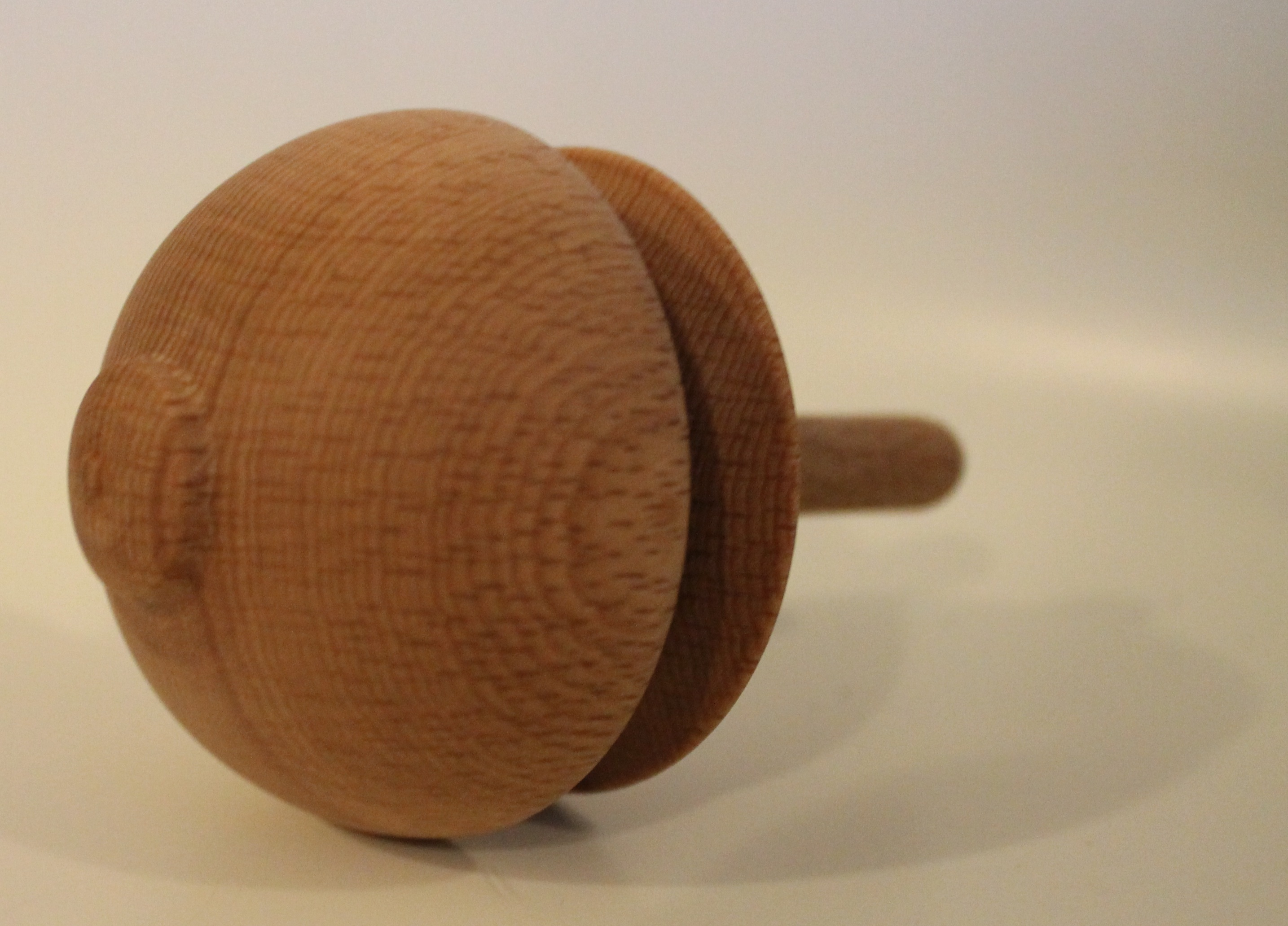 Picture of Spinning Top From Upcycled Table Leg