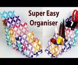How to Make DIY Storage Organizer From Cardboard?